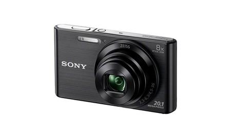 Sony Cyber Shot DSC-W83, compacta a precio de risa esta mañana, en Mediamarkt por 71,25 euros en color negro