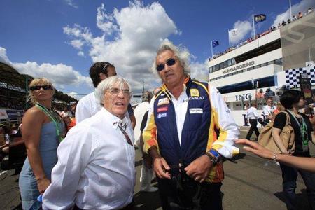 Relacionan a Flavio Briatore con Ferrari
