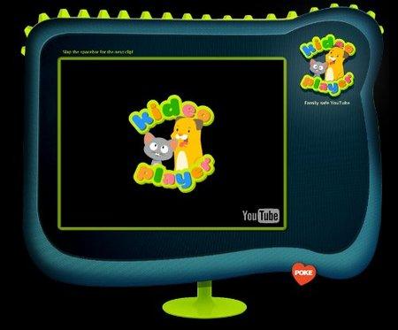 Kideo Player, selección de vídeos para niños