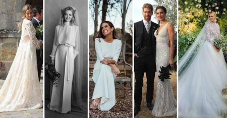 Celebrities e it girls: comparamos la boda de María Pombo con la de Chiara Ferragni, Marta Ortega, Pilar Rubio y María Frubies