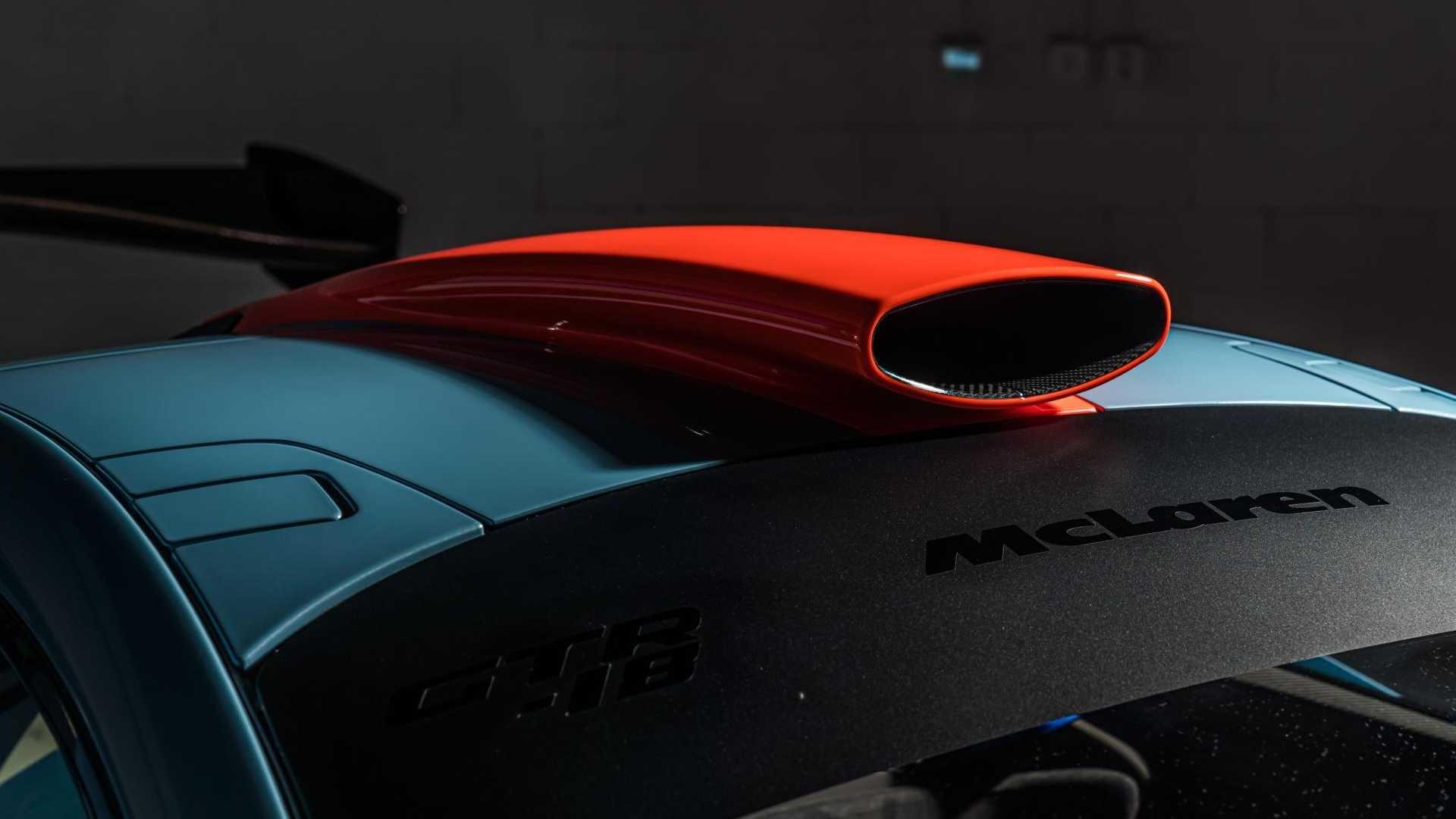 Foto de McLaren P1 GTR-18 preparado por Lanzante (8/32)