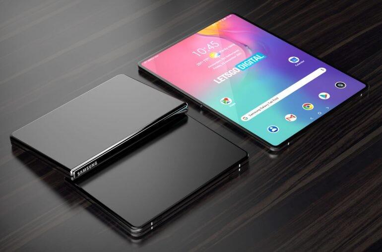Samsung trabaja ya en un tablet Galaxy Tab con pantalla plegable, según una patente
