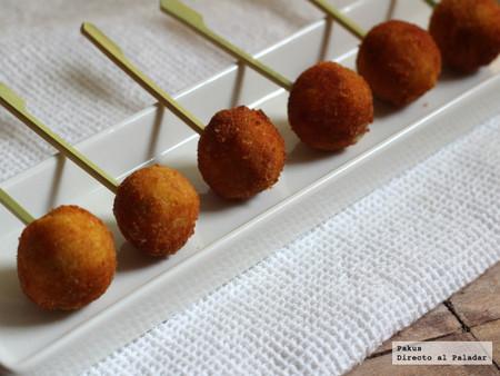 Receta de aceitunas a la villaroy, la original y elegante receta de aperitivo