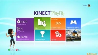Que la quema de calorías te acompañe: llega Kinect PlayFit