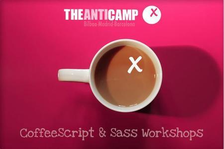 TheAntiCamp, crowdfunding para aprender tecnologías como SASS y CofeeScript