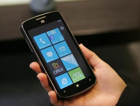 ZTE lanzará varios modelos con Windows Phone 8 durante 2013