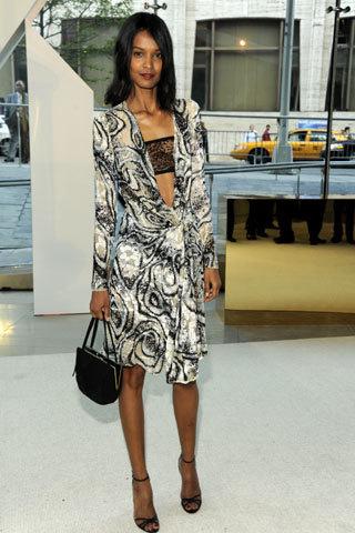 Las modelos mejor vestidas de los Premios CFDA 2009