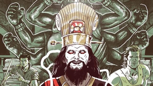 Golpe En La Pequena China Comic2