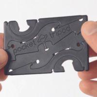 """Pocket Tripod es el trípode desmontable que se convierte al formato """"tarjeta de crédito"""""""