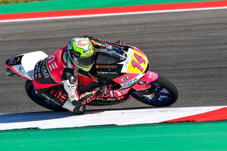 Tony Arbolino adelanta en la última curva a Lorenzo Dalla Porta y gana la carrera de Moto3 en Assen