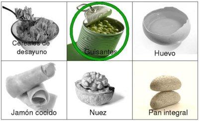 Solución a la adivinanza: el alimento con menor densidad calórica es el guisante