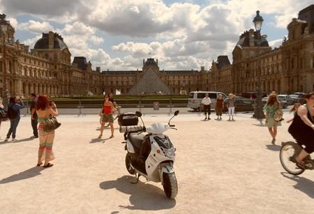 Recorriendo Francia con un scooter eléctrico