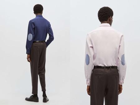 Las Camisas Con Coderas Regresan Al Armario Como El Toque De Color A Nuestros Looks De Oficina Gracias A Sfera 02