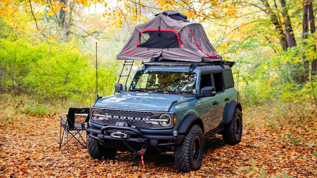 Ford Bronco Overland concept: el 4x4 se prepara para trasnochar con esta apetecible versión camperizada