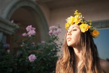 Tendencias low-cost Primavera-Verano 2013: las coronas de flores nos darán EL toque que buscamos