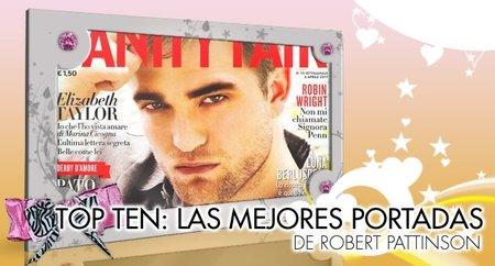 Top Ten: Las mejores portadas de revistas de Robert Pattinson