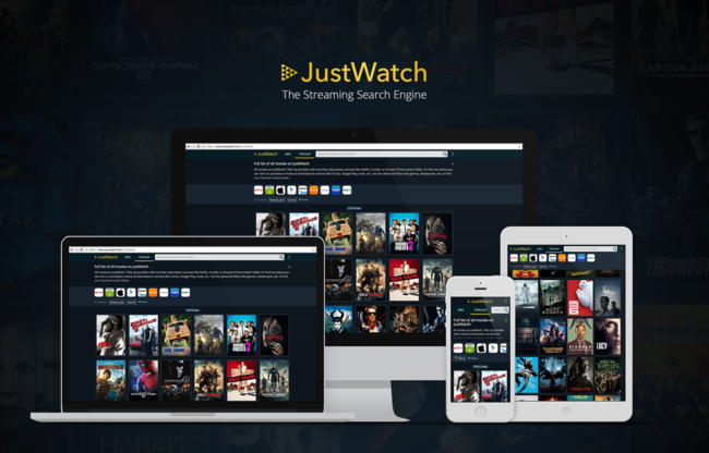 Justwatch Devices Logo Tagline Bg