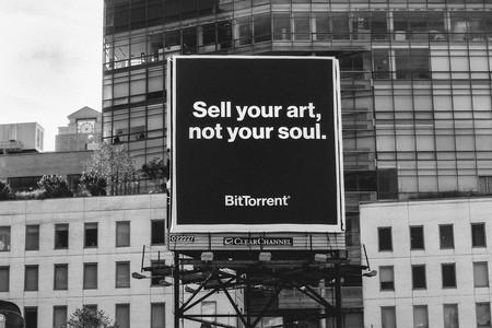 Valla promocional de BitTorrent