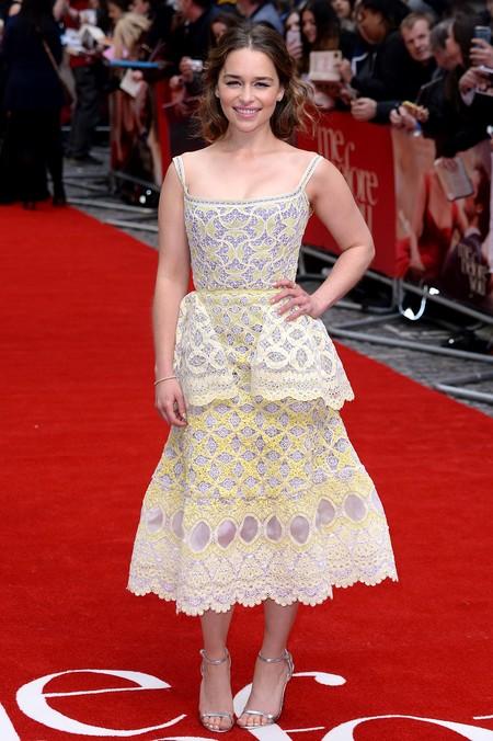 juego de tronos estilismo look alfombra roja actrices emilia clarke