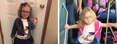 El antes y el después del primer día de cole, ¿a tu hijo también le pasa?