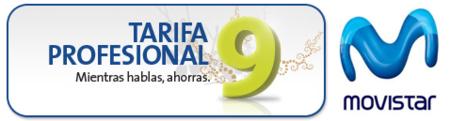 Nueva tarifa Profesional 9 de Movistar: 9 céntimos/minuto + llamadas gratis