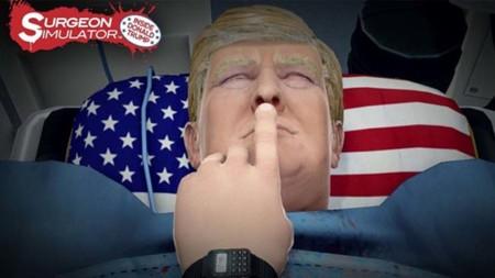 Surgeon Simulator permite operar a Donald Trump en su nuevo contenido