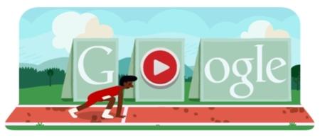 El minijuego gratuito de los 110 metros vallas de Google