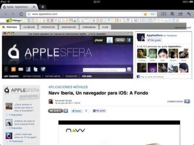 iChromy, otra alternativa de navegador para el iPad