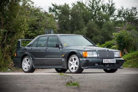 Se subastará un Mercedes-Benz 190E 2.5-16 Evo II como nuevo