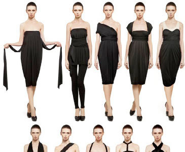 The Infinity Dress by Donna Karan, un vestido, diez posibilidades