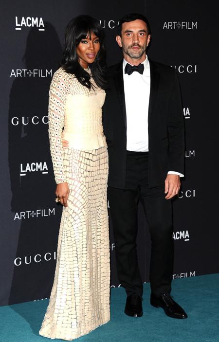 Naomi Campbell y Riccardo Tisci