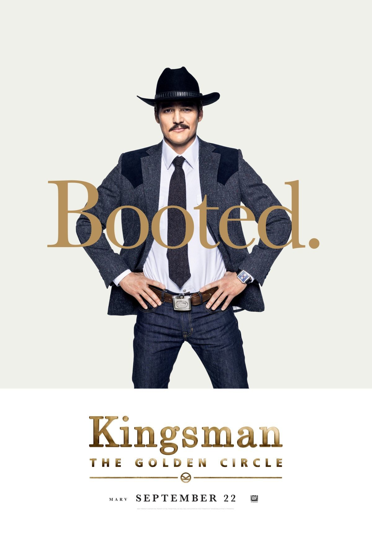 Foto de Carteles de los protagonistas de 'Kingsman: El círculo de oro' (6/8)