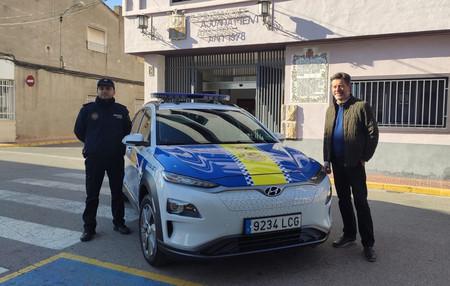 Los coches eléctricos y de hidrógeno de Hyundai se extienden por Europa, incluso como vehículos policía