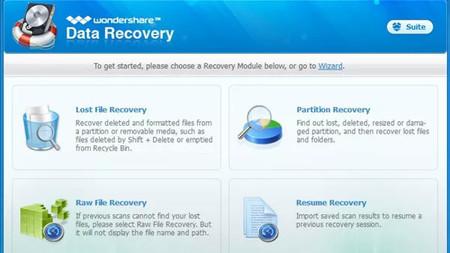 Wondershare Data Recovery, una ayuda para recuperar datos cuando todo parece perdido