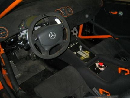 Mercedes CLK DTM AMG naranja