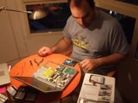 """Instalación de un disco duro en un PowerBook 12"""""""