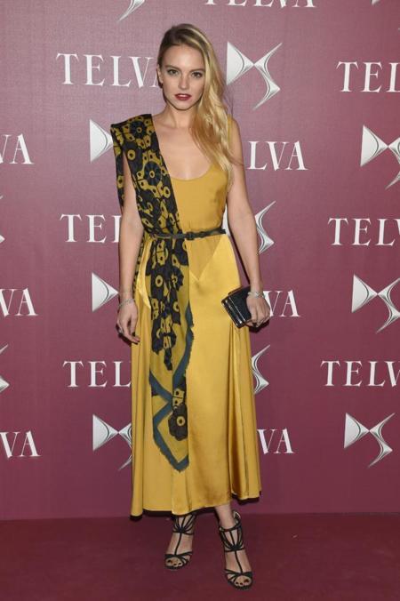 Laura Hayden en la entrega de premios T de Telva