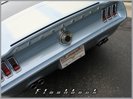1967 Ford Mustang Flashback