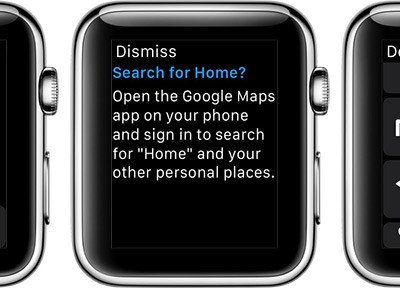 Google actualiza su aplicación de mapas para iOS añadiendo soporte para el Apple Watch