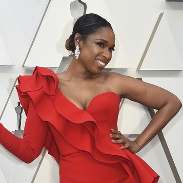 Premios Oscar 2019: Jennifer Hudson una sexy mujer de rojo