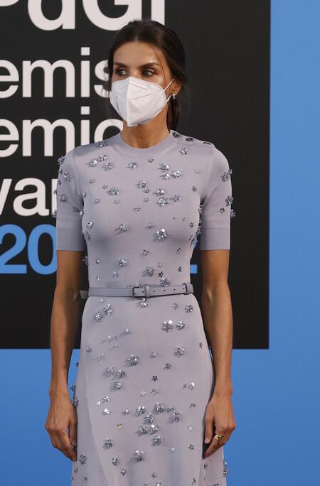 Doña Letizia impacta con uno de sus vestidos más bonitos en los Premios Fundación Princesa de Girona