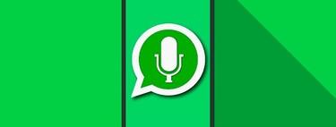Cómo escuchar notas de voz de WhatsApp sin que nadie lo sepa con la aplicación Voicey