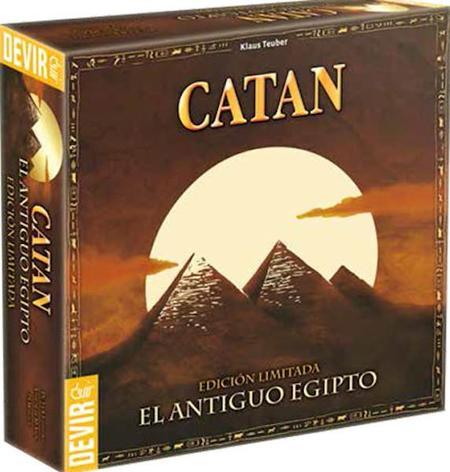 Edición especial ambientada en el Antiguo Egipto para celebrar el cumpleaños del Catan