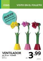 La flor ventilador y otras promociones de Casa