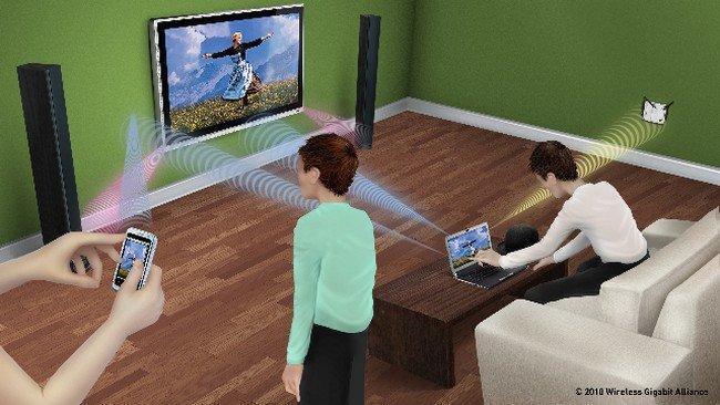 WiGig y WiFi