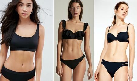 Bikini Color Negro 03