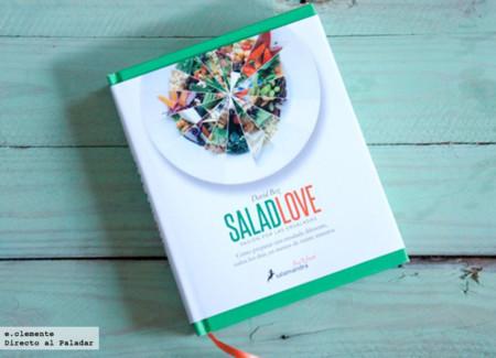 """""""Salad love, pasión por las ensaladas"""". Libro de recetas"""