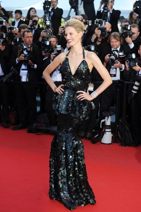 Karolina Kurkova Cannes 2012