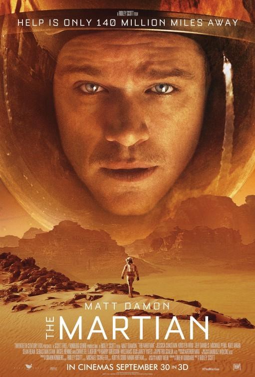 'Marte (The Martian)', carteles
