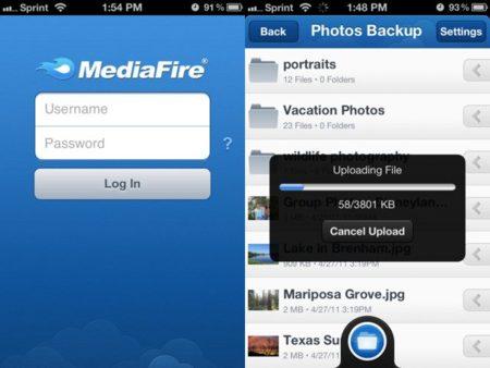 MediaFire aparece en iOS con 50 GB gratis